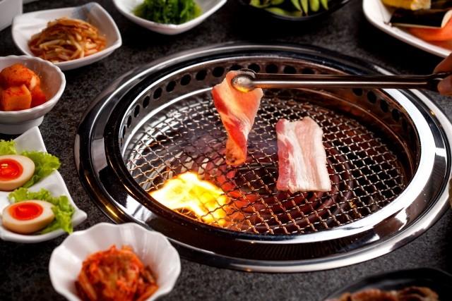 E型日式下排烟烧烤炉