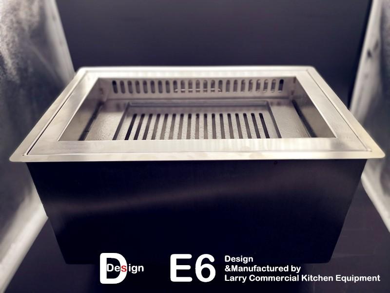 E6日式下排烟炭烤炉